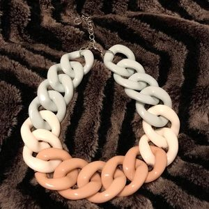 Set of 2 Women's trendy necklaces.